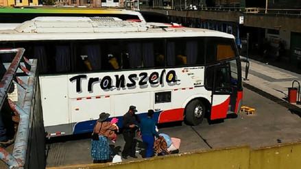 Más 150 buses incumplieron normas de transporte