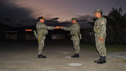Vraem: despiden en ceremonia especial al general Cesar Astudillo