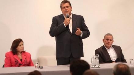 García defiende Alianza Popular: Ningún partido puede impulsar solo al Perú