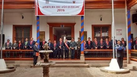 Con misa y ceremonia se apertura año judicial 2016