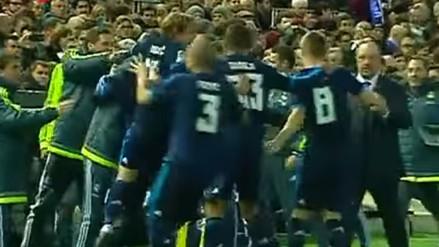 YouTube: jugadores del Real Madrid no celebraron los goles con Rafa Benítez