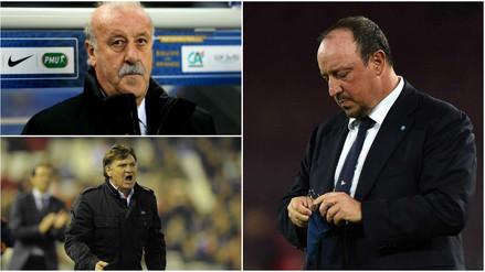 Real Madrid: Rafa Benítez y 9 entrenadores despedidos por Florentino Pérez (FOTOS)