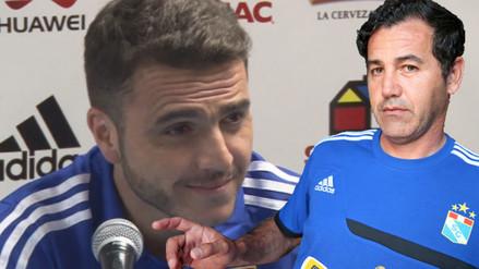 Sporting Cristal: periodista confundió a Mariano Soso con Daniel Ahmed (VIDEO)