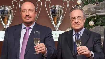 Real Madrid: Rafa Benítez se despidió sin mencionar a Florentino Pérez
