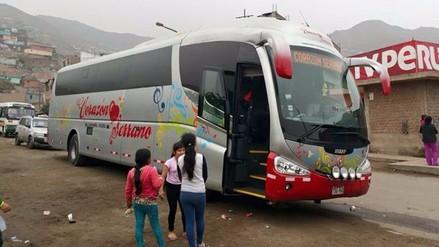 Liberan a chofer de bus de Corazón Serrano tras conciliación extrajudicial