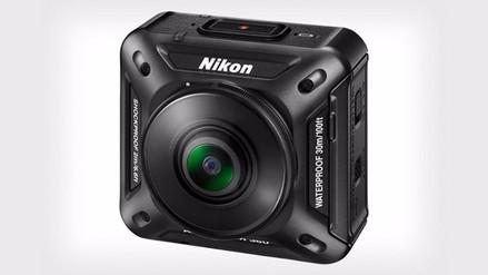CES 2016: Nikon presenta su primera cámara que graba en 360 grados