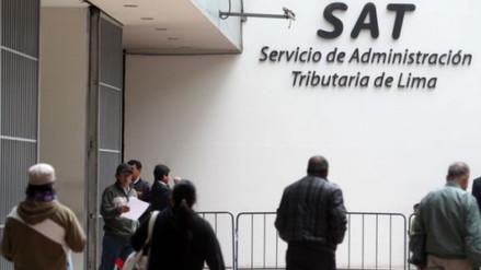 SAT logró recaudación tributaria récord para Lima durante el 2015