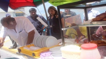 Intensifican operativos para supervisar venta de comida ambulatoria por verano