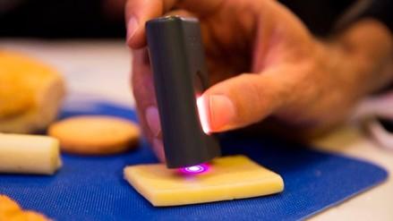 Crean un escáner que detecta la composición química de los alimentos