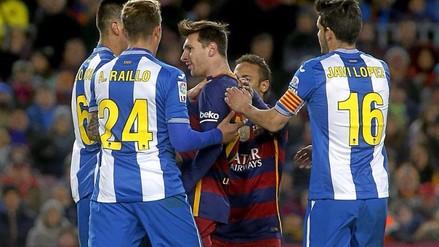 Barcelona vs. Espanyol: Lionel Messi recibió insultos y amenazas en el vestuario