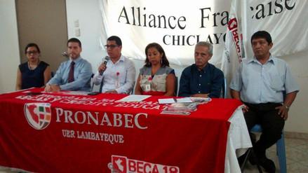 Se inició la convocatoria Beca 18 en la región Lambayeque