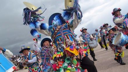 Juliaca: realizaron lanzamiento de carnaval en anfiteatro de Huaynarroque