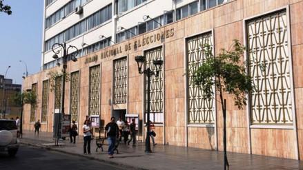 JEE abre proceso sancionador contra APRA y Solidaridad Nacional