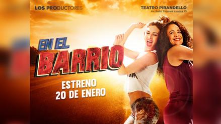 """Bruno Ascenzo presenta musical """"En el Barrio"""""""