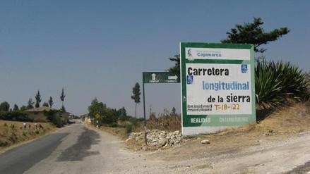 Denuncian que carretera Chota – Chiclayo se encuentra descuidada