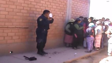 Juliaca: golpean a sereno por impedir linchamiento de delincuentes