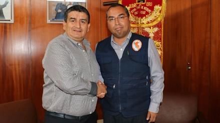 Asume funciones nuevo jefe del Indeci en Lambayeque