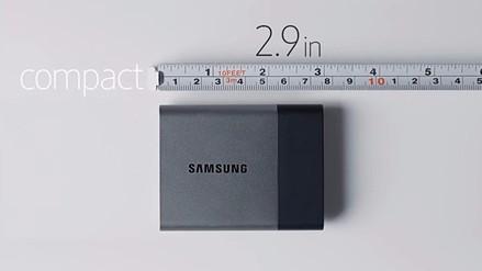 CES 2016: Samsung lanza un minidisco duro SSD de 2 TB de espacio