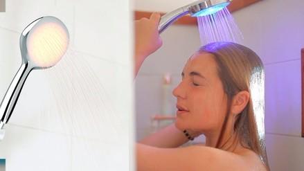 CES 2016: esta ducha te alertará cuando estés consumiendo mucha agua