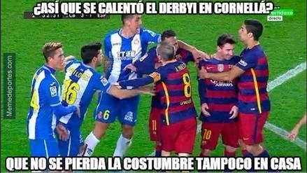Barcelona vs. Espanyol: Lionel Messi y y Arda Turan son blanco de memes (FOTOS)