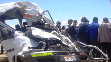 Unos 3500 peruanos mueren cada año en accidentes de tránsito, afirman