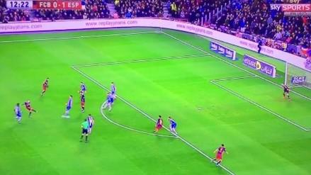 Barcelona vs. Espanyol: Iniesta hizo famoso a Messi con pase quirúrgico