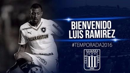 Alianza Lima: Luis Ramírez se convirtió en nuevo jugador 'blanquiazul'