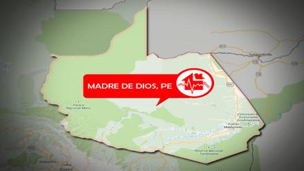 Sismo de 5.0 grados se registró en Puerto Maldonado