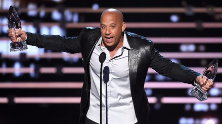 People's Choice Awards:  Vin Diesel cantó en homenaje a Paul Walker