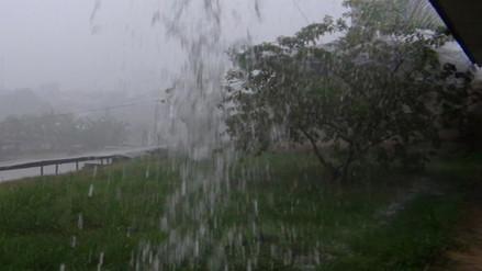 Lluvias y granizadas también afectan distrito de Concepción