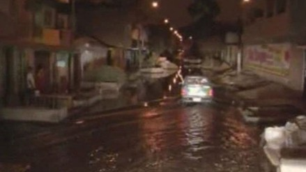 Calca: lluvias dejan 24 viviendas inundadas