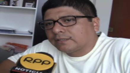 "Elmer ""Chico"" Yaipén pidió garantías luego de amenazas de extorsionadores"