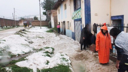 Más de 50 viviendas afectadas por granizada en Concepción