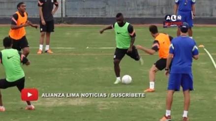 Facebook: Johnnier Montaño regaló un lujo en el entrenamiento de Alianza Lima