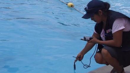 Brazo de niña quedó atrapado en ducto de piscina en San Borja