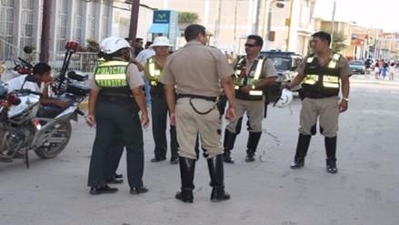 Tiran piedras a policiales durante operativo en Chulucanas