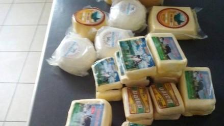 Trujillo: incautan paquetes de queso sin registro sanitario