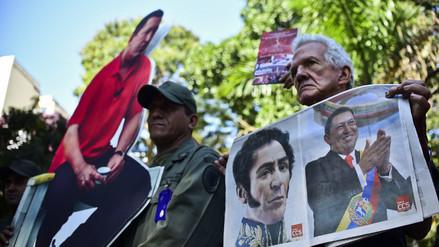 Venezuela: FFAA considera ultraje retiro de cuadros de Bolivar y Chávez
