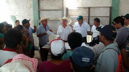 """Gestionarán ejecución de obra por """"El Niño"""" tras protesta de pobladores"""