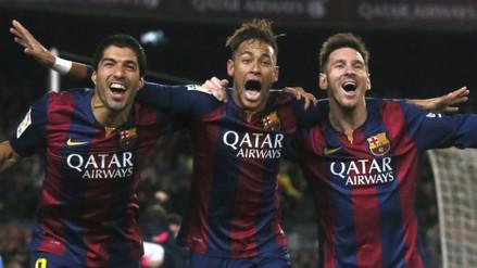 Barcelona vs. Granada: la 'MSN' armó jugadón que terminó en gol de Messi (VIDEO)