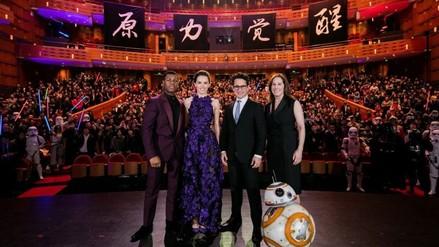 ¡Star Wars rompió otro récord! Batió taquilla en China