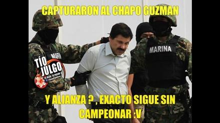 Facebook: hinchas de Universitario utilizan a 'El Chapo' Guzmán para burlarse de Alianza Lima