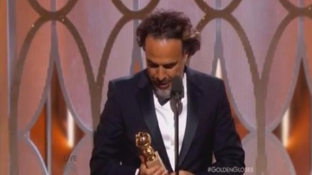 González Iñárritu logra su primer Globo de Oro como director
