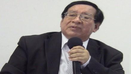 Saliente rector Agustín Ramos pone su cargo a disposición