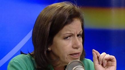 Lourdes Flores: García deberá gobernar con menos soberbia y más humildad