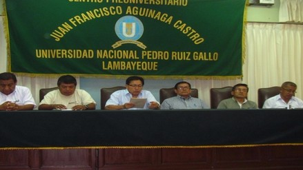 Elector Rector de UNPRG Jorge Oliva pidió exhaustiva investigación tras denuncia de saqueo
