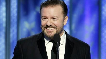 Globos de Oro: Ricky Gervais y la presencia latina dan la hora