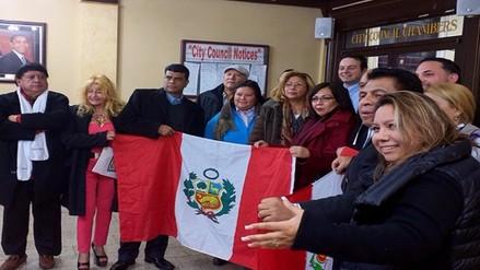 Connacionales piden añadir nombre de Perú en calle comercial de  Paterson