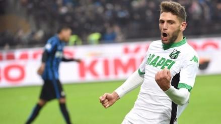 Serie A: Inter de Milán cayó 1-0 ante el Sassuolo en los descuentos