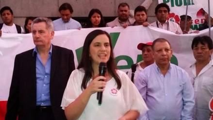 """Verónika Mendoza: """"Nuestro plan de gobierno no será jamás letra muerta"""""""